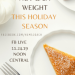 How to Not Gain Weight This Holiday